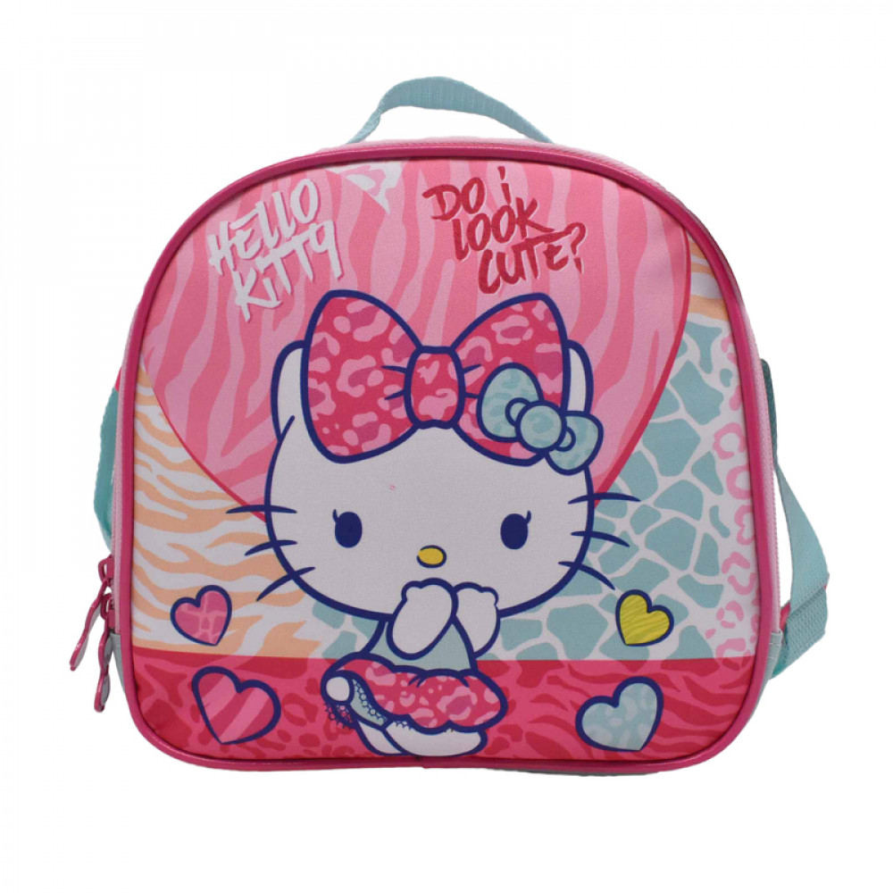 شنطة طعام قلوب هيلوكيتي, HELLO KITTY, Lunch Bag