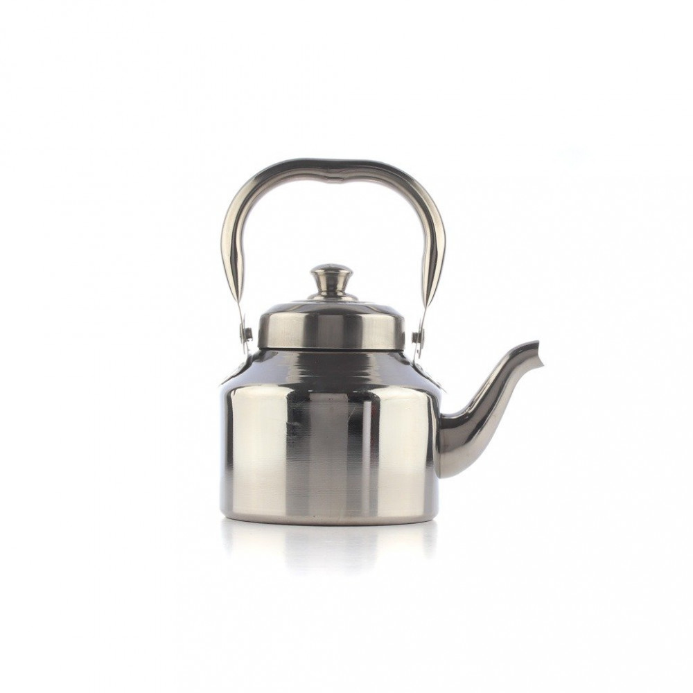 ابريق شاي استيل هندي 1 لتر