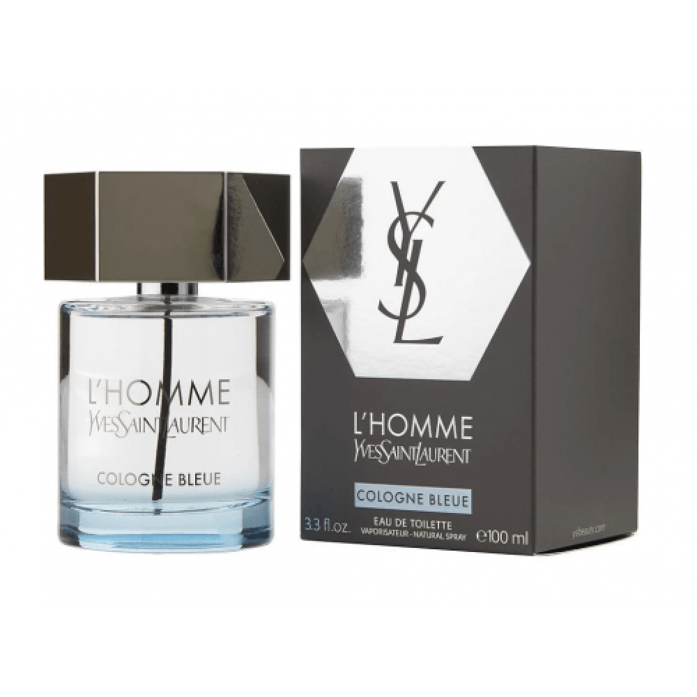 Yves Saint Laurent LHomme Cologne Bleue Eau de Toilette 100ml خبير ال