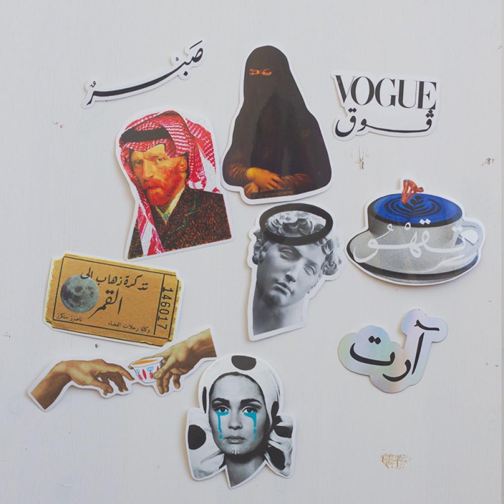 10قطع ناصرز ستكرز مجموعة 5