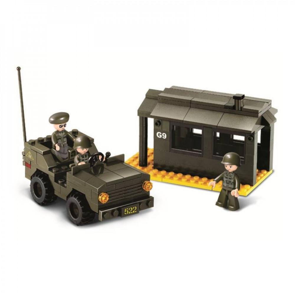 سلوبان, قطع تركيب قوات برية خارجية, العاب, Toys, Sluban