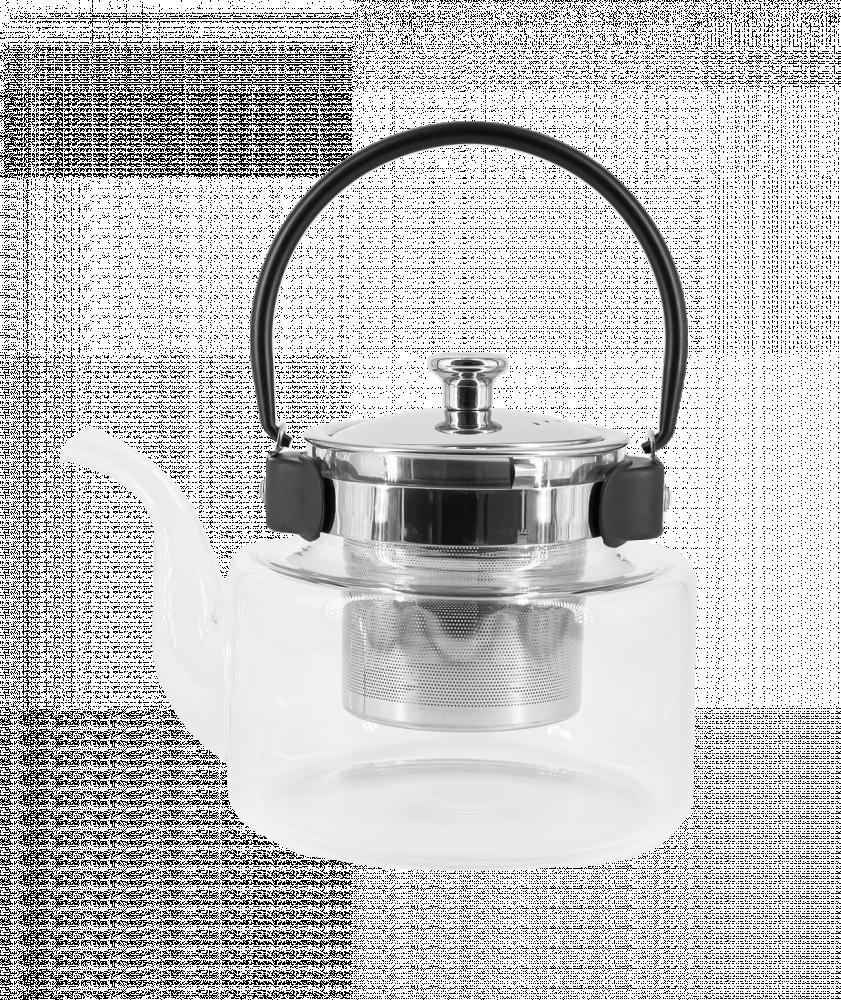 بياك-ابريق-زجاجي-شفاف-بيضاوي-ادوات-الشاي