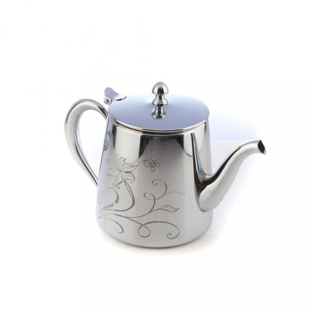 براد شاي استيل كروم