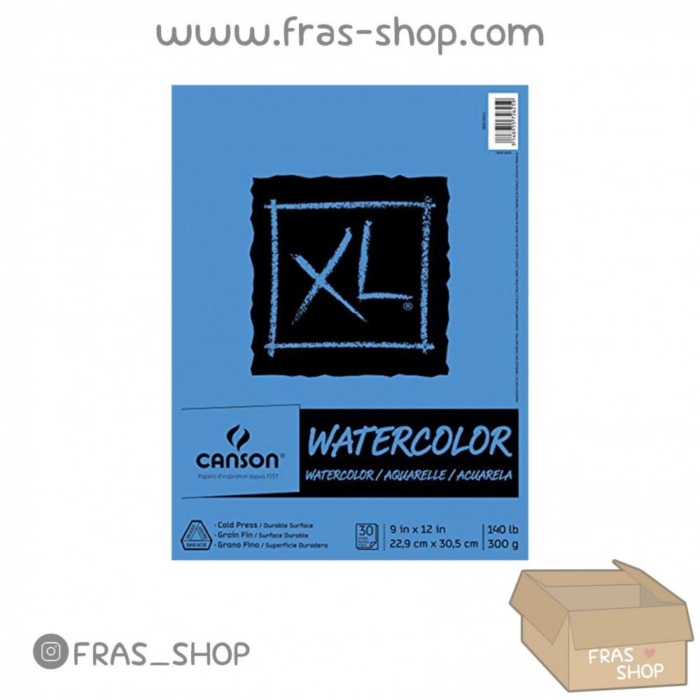 كراسة إكس ال المائية Canson XL Series Watercolor Pad 300gsm