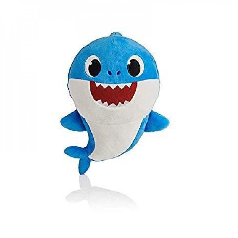 بيبي شارك, دمية مع الصوت بابا شارك, ألعاب, Toys, Pinkfong, Baby Shark