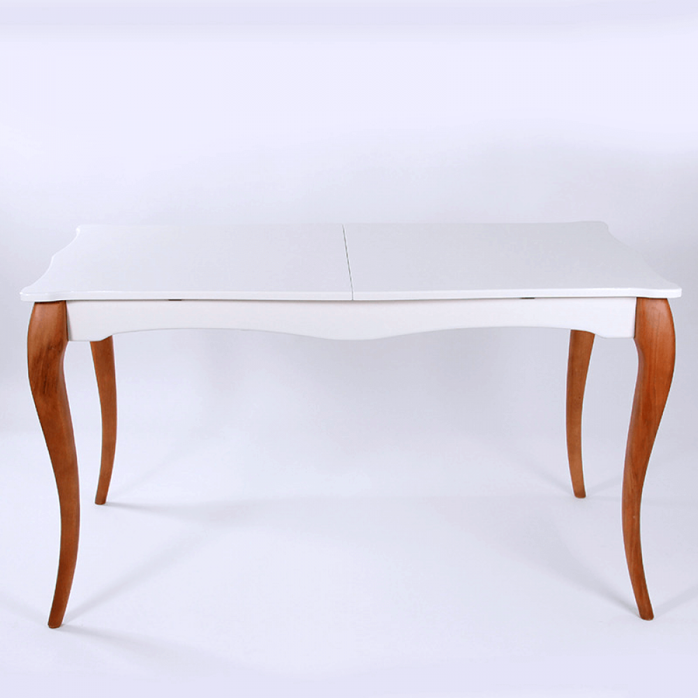 طاولة سفرة تركي موديل نبتا فخمة بتصميم مودرن من الخشب الطبيعي
