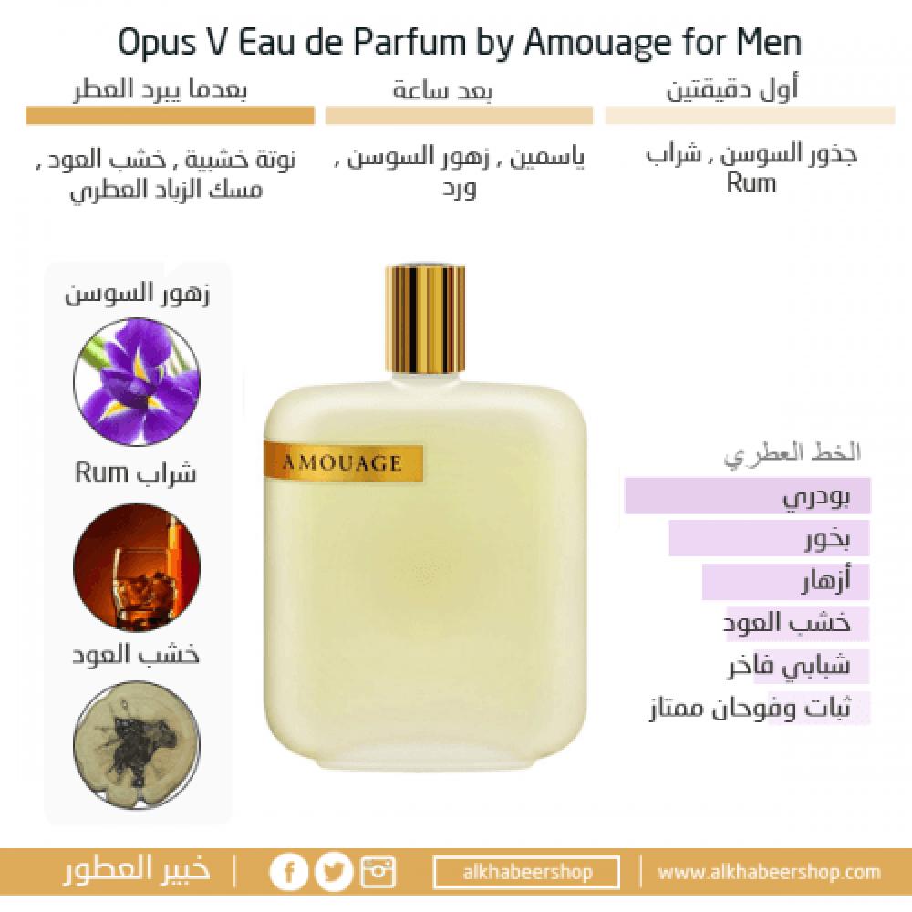 The Library Collection Amouage Opus V Eau de Parfum 100ml خبير العطور