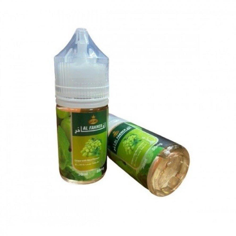 نكهة معسل الفاخر عنب نعناع سولت نيكوتين - Al Fakher Grape Mint