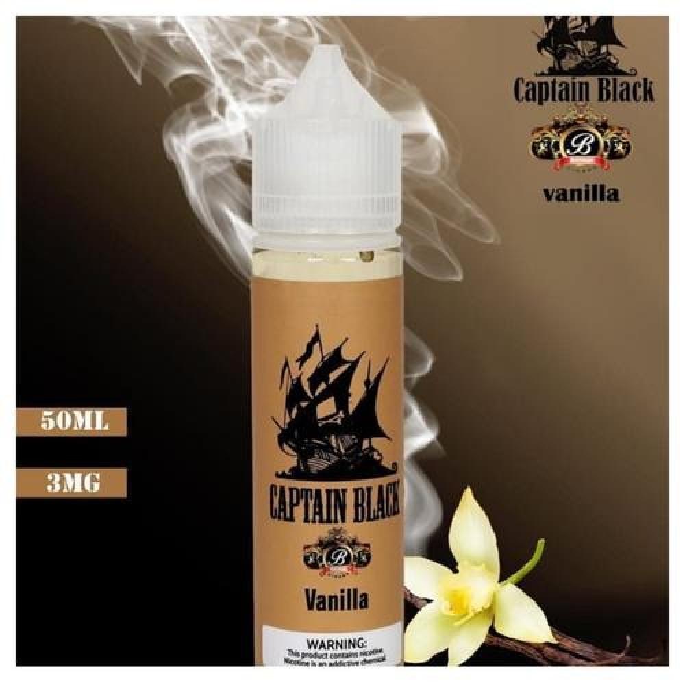 نكهة فانيلا من كابتن بلاك 60 مل Captain black vanilla 3 mg