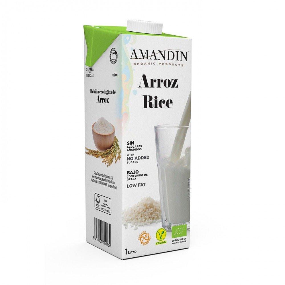 شراب الأرز العضوي 1 لتر
