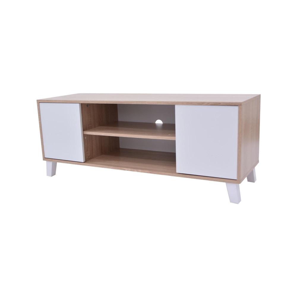 طاولة تلفزيون من كاما ابيض C-120-white2135
