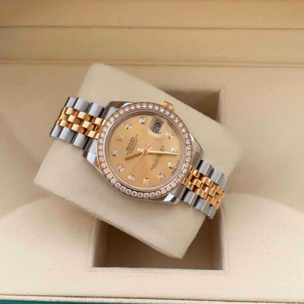 ساعة رولكس ديت جست الأصلية الفاخرة مستخدمة 278383