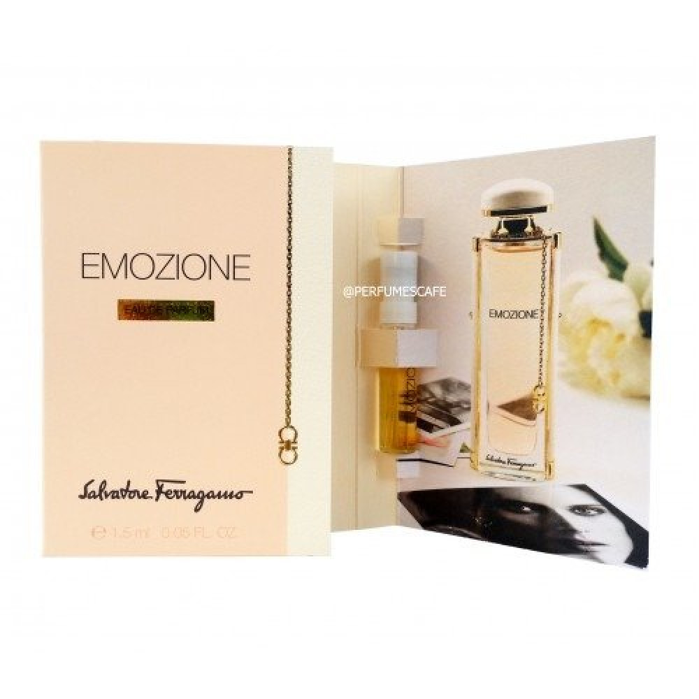 Salvatore Ferragamo Emozione Eau de Parfum Sample 1-5ml متجر خبير العط