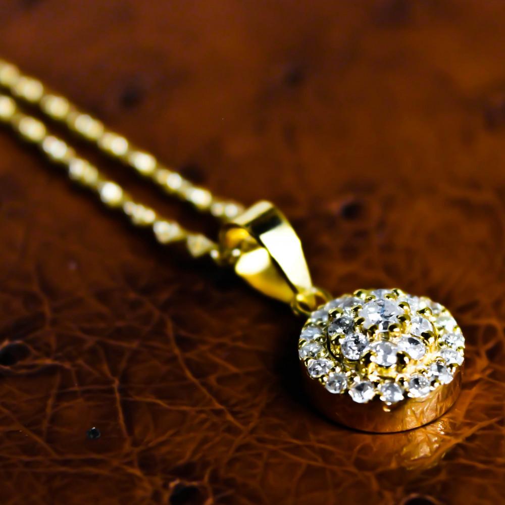 قلادة الماس فريديان عيار 18