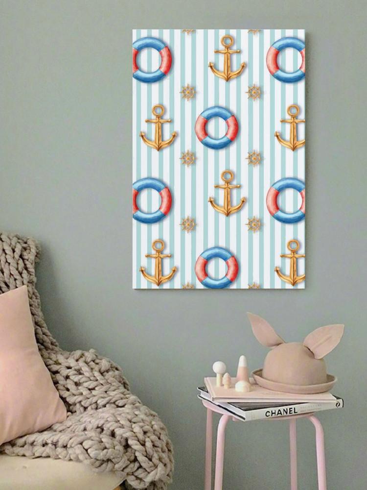 لوحة البحارة خشب ام دي اف مقاس 40x60 سنتيمتر