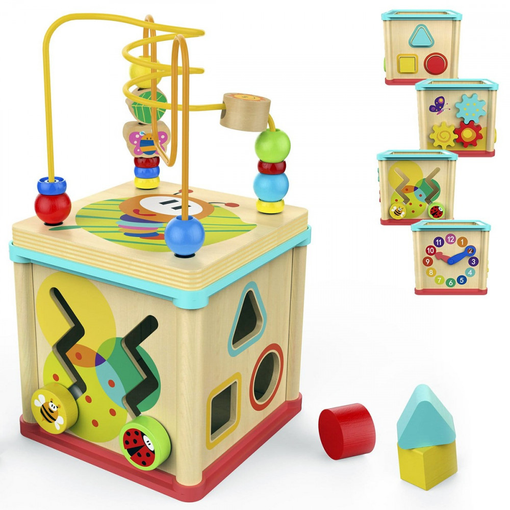 Top Bright Garden 5in1 Activity Cube - Toys Lab