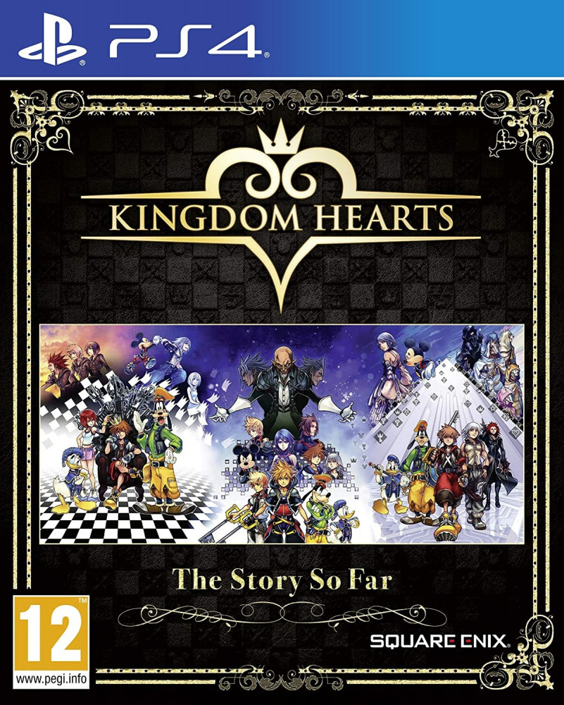 Kingdom Hearts- The Story so far -PS4