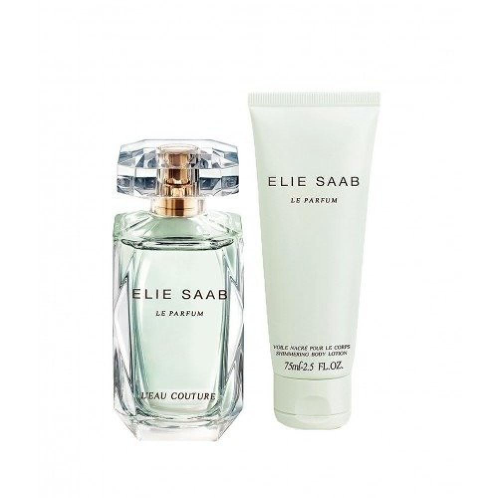 Elie Saab Le Parfum LEau Couture Eau Toilette 90ml 3 Gift Set-Bag متجر