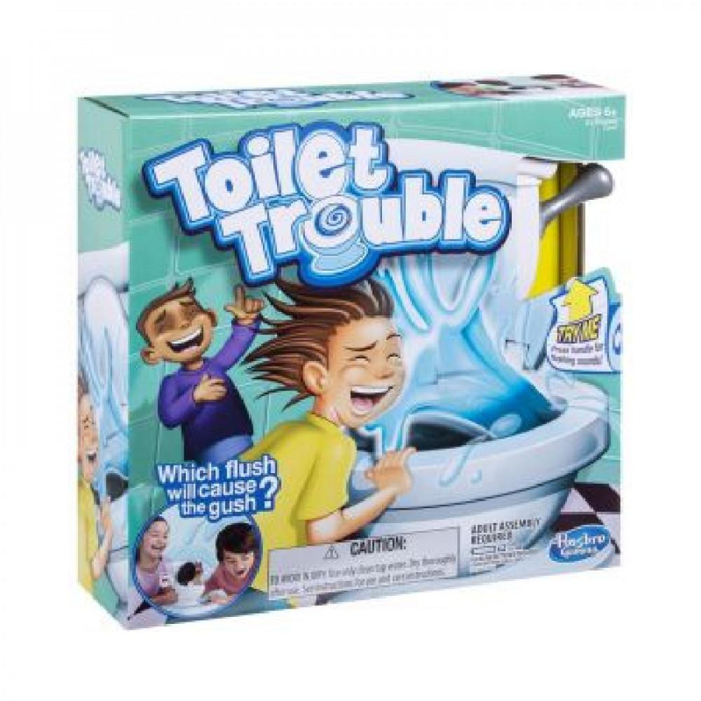 Toilet Trouble, Toys, Hasbro, هاسبرو, تواليت ترابل, ألعاب