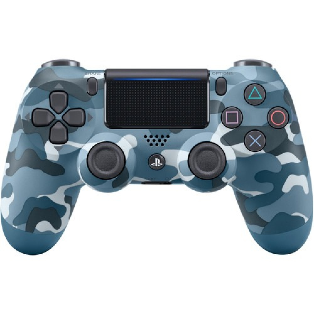 DualShock 4 Controller Blue Camouflage