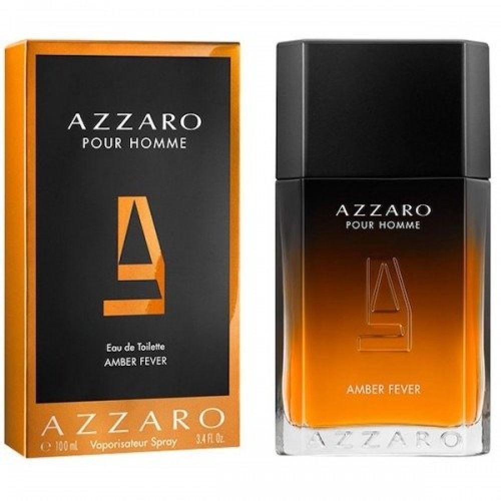 Azzaro Pour Homme Amber Fever Eau de Toilette 100ml خبير العطور