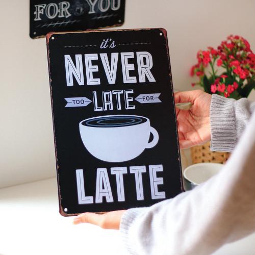 لوحات معدنية لركن القهوة أفكار مميزة لتصميم ركن للقهوة في منزلك متجر A Chic Thing