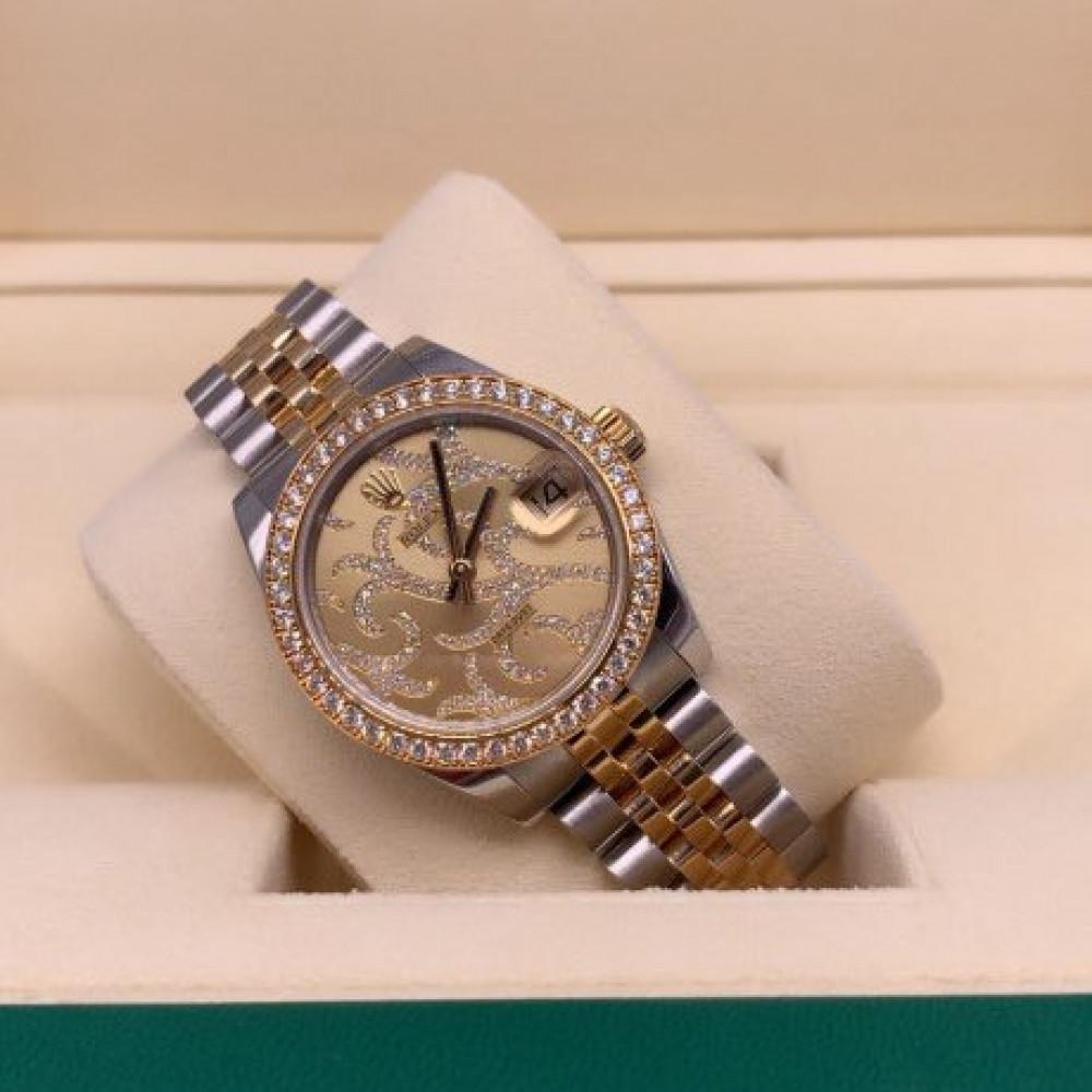 ساعة Rolex datejust الأصلية الثمينة