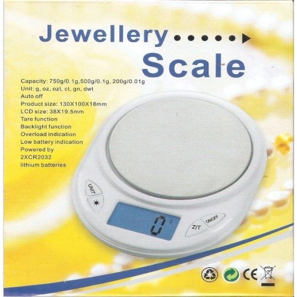 ميزان مطبخ مجوهرات رقمي يزن الى 500 غرام