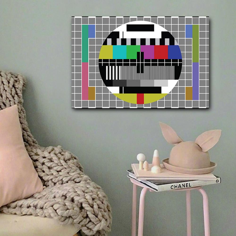 لوحة البث التجريبي خشب ام دي اف مقاس 40x60 سنتيمتر