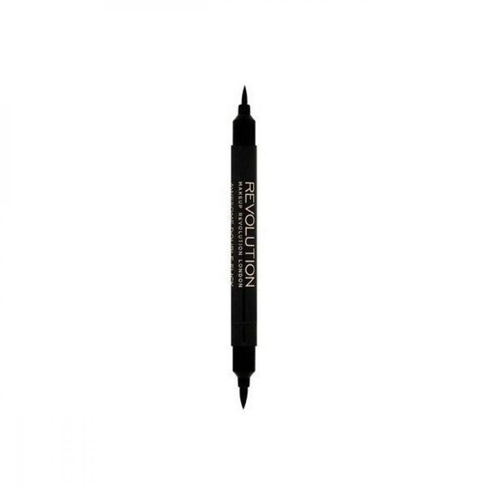 قلم ايلاينر ثنائي فيلت اند كحل من ريفلوشن - اسود
