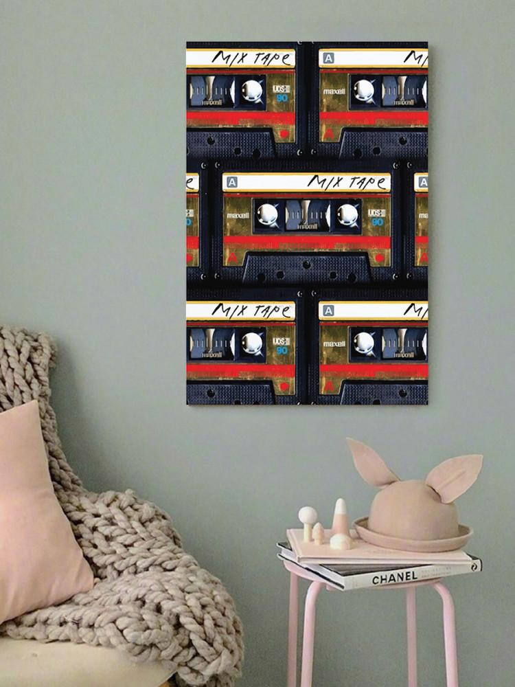 لوحة كاسيتات خشب ام دي اف مقاس 40x60 سنتيمتر