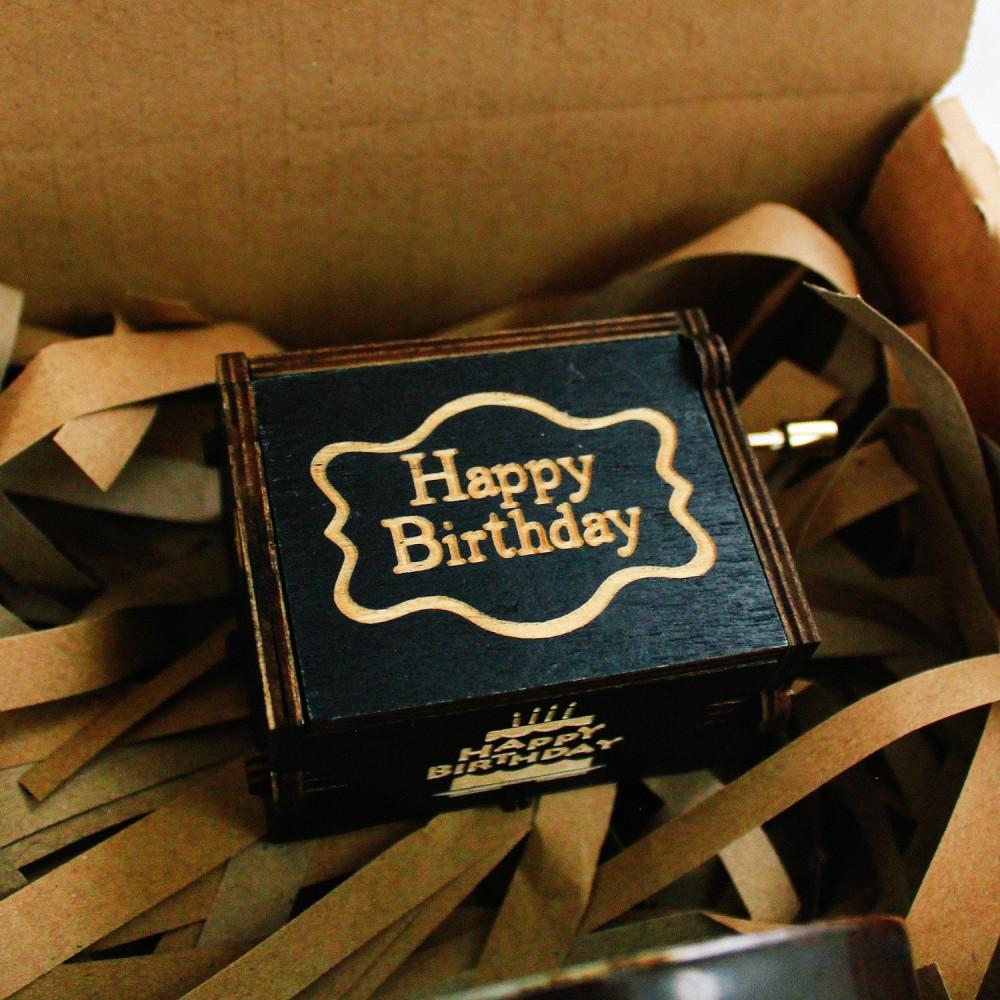 هدايا جاهزة هدية عيد الميلاد للرجال النساء صندوق موسيقي عيد الميلاد