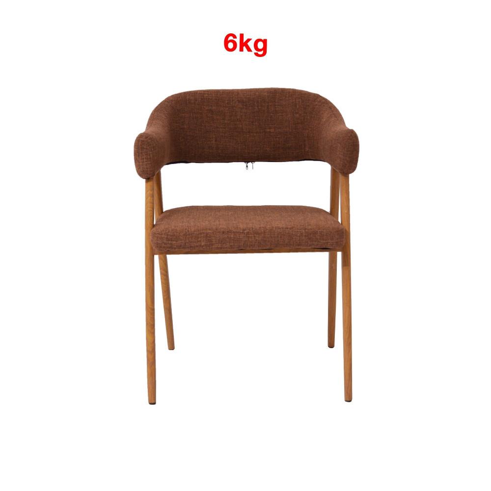 كرسي بني رجل خشبي