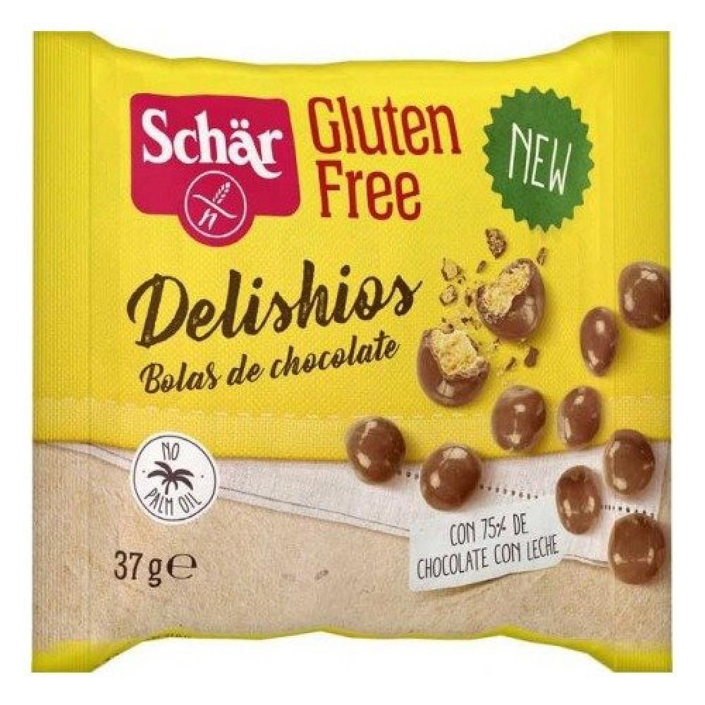 دليشيز كرات مقرمشة بالشوكولاتة خالي من الجلوتين 37 جرام