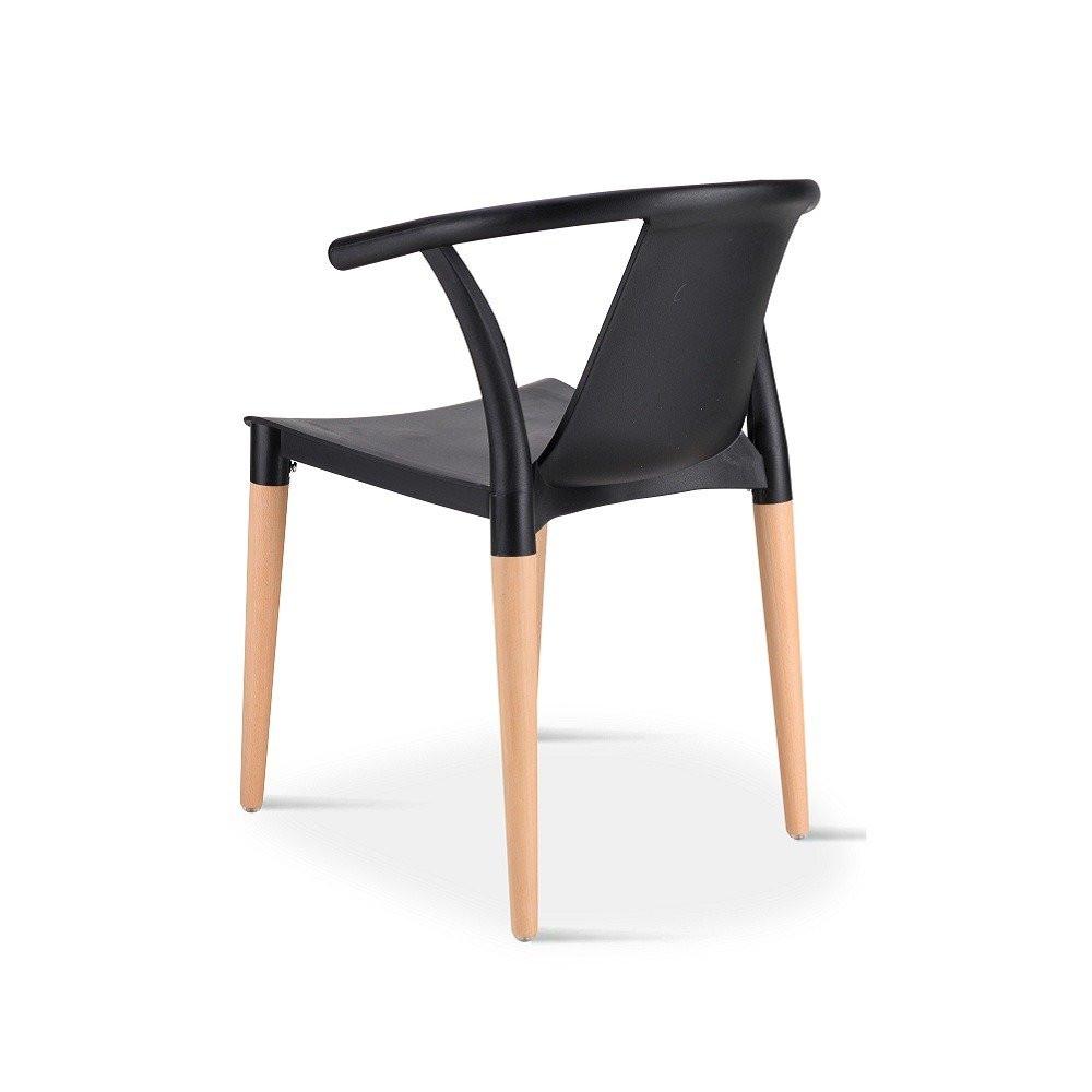 متجر مواسم لديه أجمل كرسي في طقم كراسي أسود ماركة نيت هوم بلونه الرائع