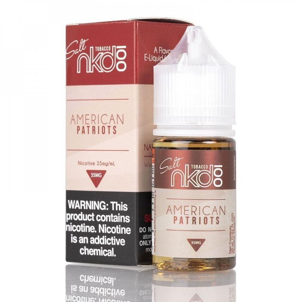 NAKED AMERICAN PATRIOTS - Salt Nicotine