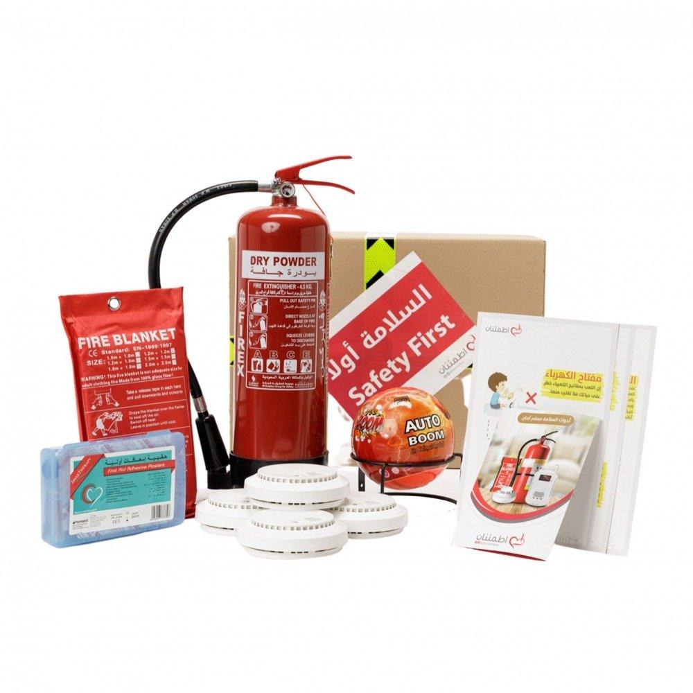 محتويات صندوق أدوات السلامة المنزلية 1- متجر اطمئنان