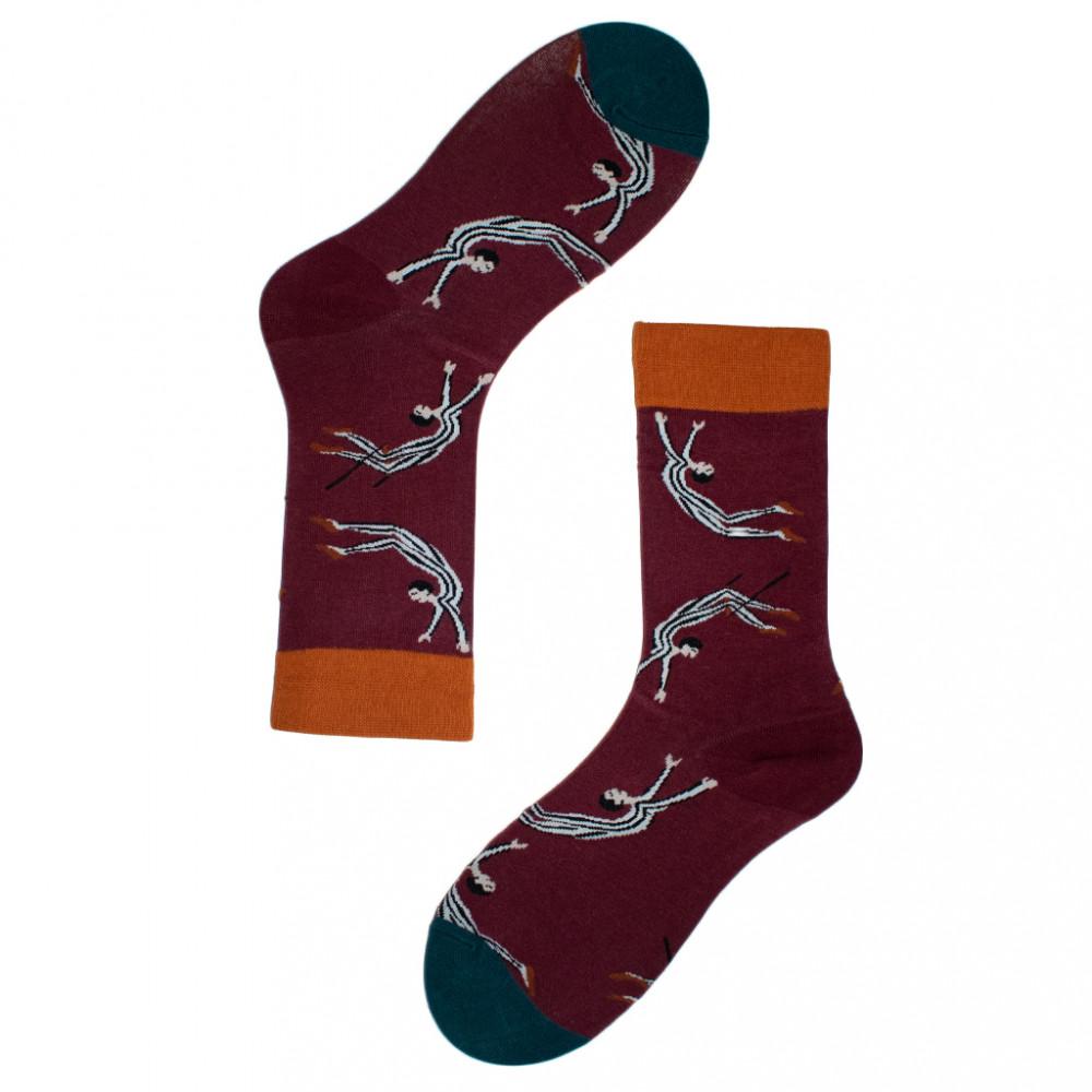 جوارب قطنية - جورب البهلوان - تصميم مبدع - تسوق الان من متجر ابوجي