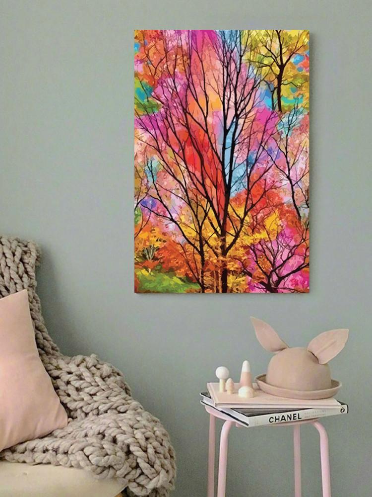 لوحة الخريف خشب ام دي اف مقاس 40x60 سنتيمتر