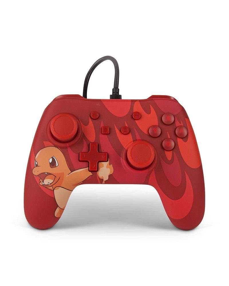 Nintendo Switch Wired Controller  Blaze Charmander