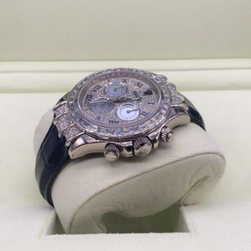 ساعة رولكس دايتونا الأصلية الفاخرة شبه جديدة