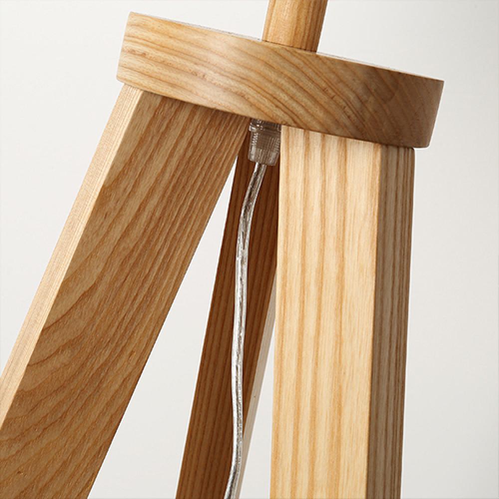 تجارة بلا حدود مكونات أباجورة أرضية بطاولة صغيرة قبل التركيب