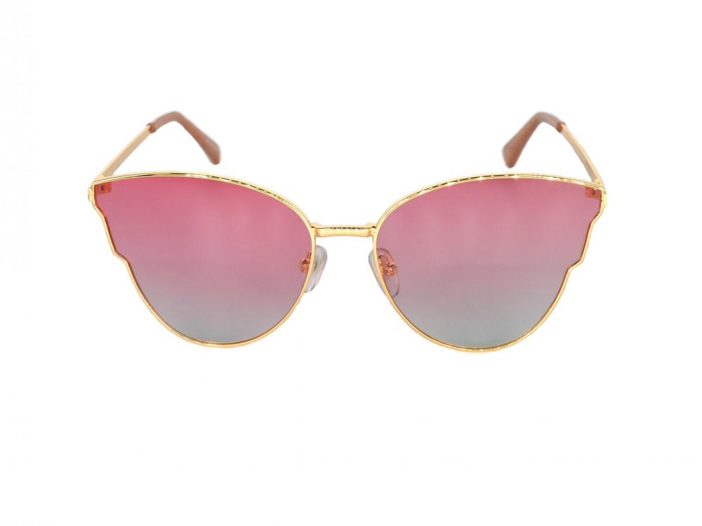 نظاره شمسية نسائية من ماركة DESPADA لون العدسة وردي بإطلالة طبيعية تحج