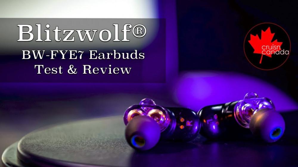 سماعة ستيريو BlitzWolf BW FYE7  مع صندوق الشحن