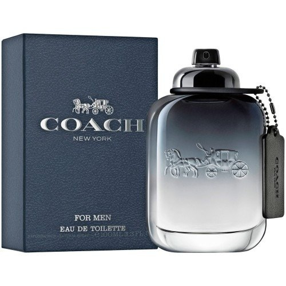 Coach New York for Men Eau de Toilette خبير العطور