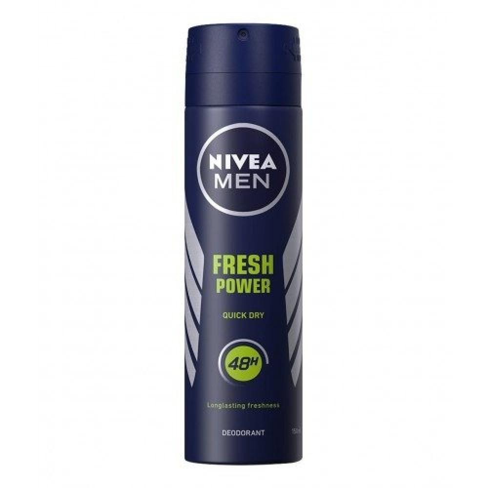 Nivea Men Fresh Power Quick Dry Deodorant Spray 150ml خبير العطور