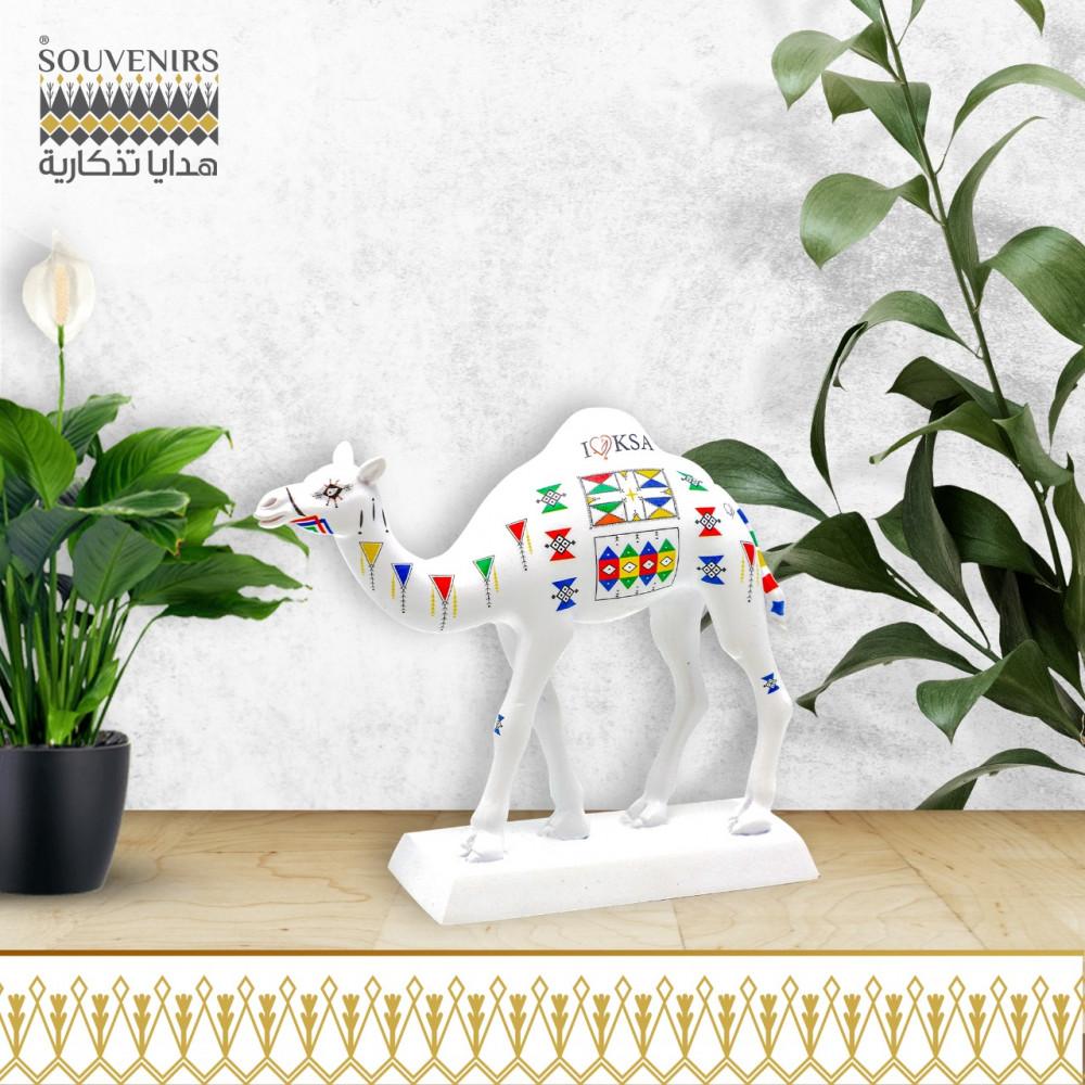 مجسم جمل القط العسيري