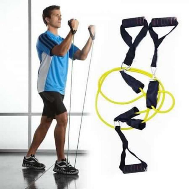 جهاز حرق الدهون الأصلي حبل التمارين المقاومة