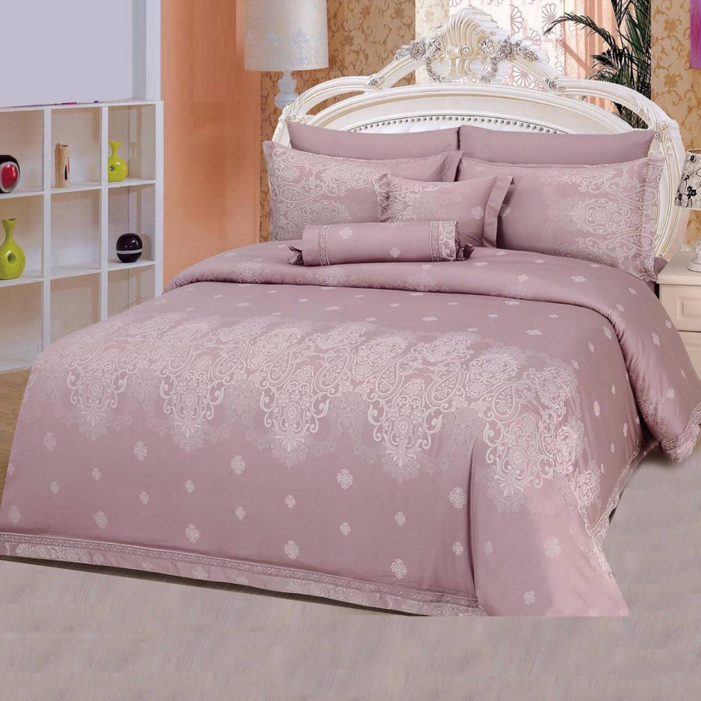 طقم مفرش سرير صيفي نفر ونص - متجر مفارش ميلين