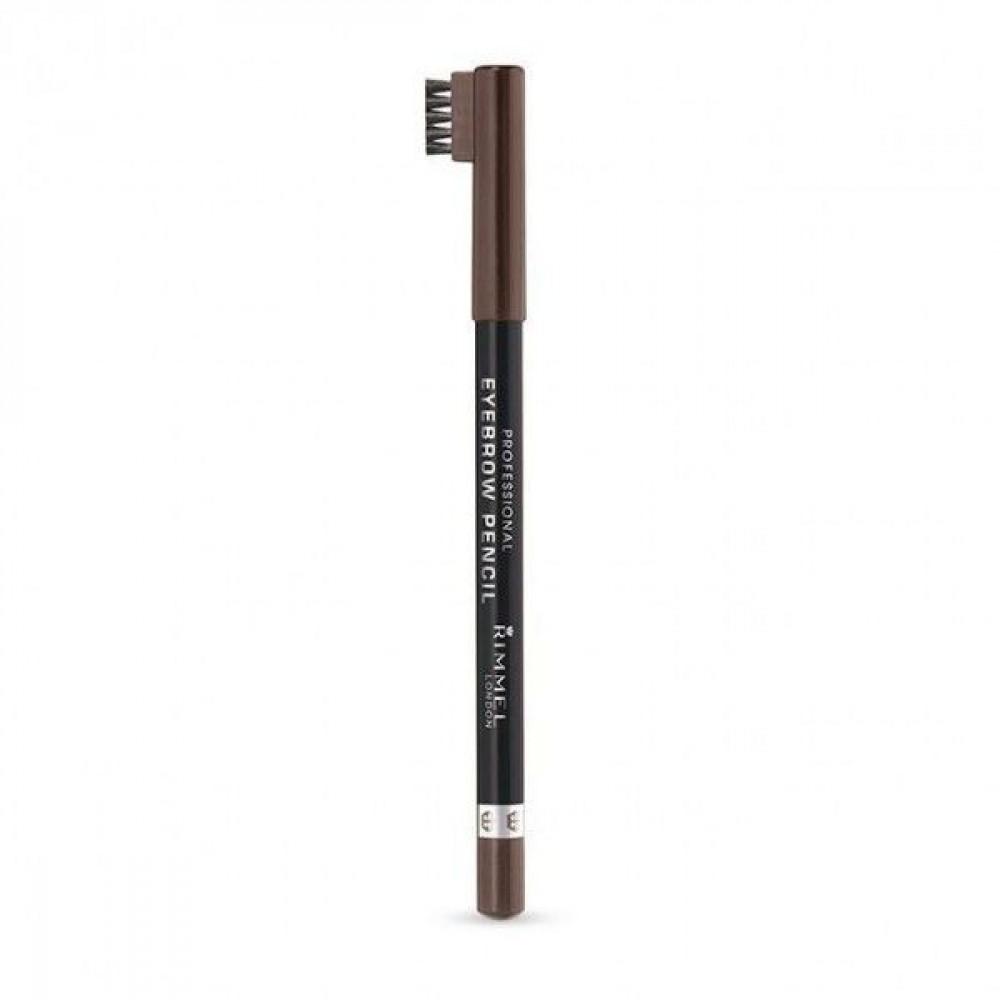 ريميل لندن قلم تحديد حواجب لون هيزل رقم002 من ريميل  RIMMEL EYEPROW PE
